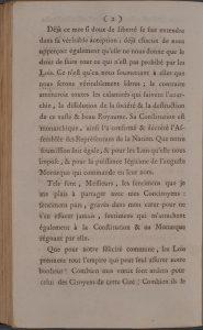 Discours de Toulongeon prononcé à l'occasion de la fête de la Fédération