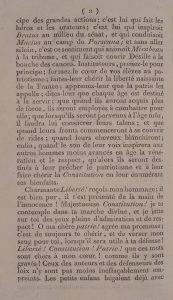 Suite du discours de Charles Nodier (1)