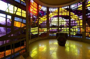 Intérieur de l'église d'Audincourt (détail)
