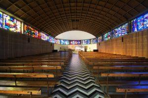 Intérieur de l'église d'Audincourt