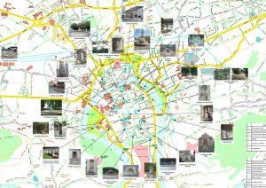 Plan des fontaines bisontines