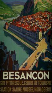 Une affiche touristique pour Besançon