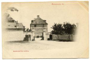 Le fort Griffon autrefois