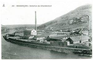 Les soieries de Chardonnet au début du XXe siècle