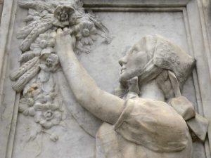 Détail du monument aux morts de Montbéliard