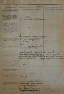 Extrait du dossier de naturalisation page 3