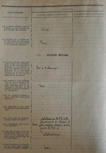 Extrait du dossier de naturalisation page 4