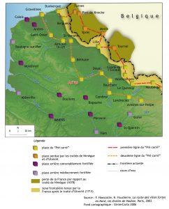 Le pré carré : l'exemple du nord de la France