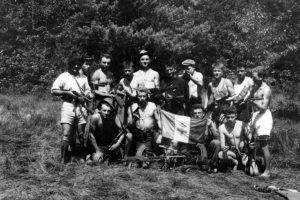 Le groupe Tito en juillet 1944