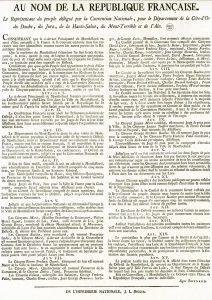 L'acte de rattachement de Montbéliard à la France