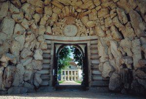 La porte d'accès de la Saline