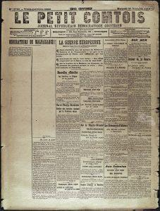 Un journal dans la guerre