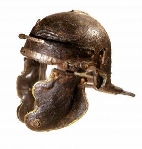 Un casque romain