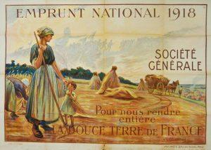 Une affiche pour l'emprunt - 1918