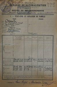 Armand Cérioli devient Français